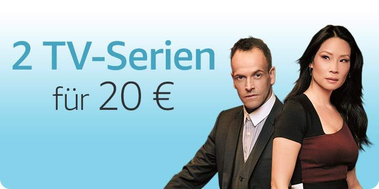 2 TV-Serien für 20 EUR