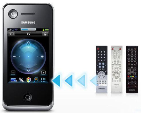 Samsung RMC30D1P2/ZG Touch Universalfernbedienung 3