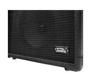 """8"""" Speaker und robuste Schutzecken"""