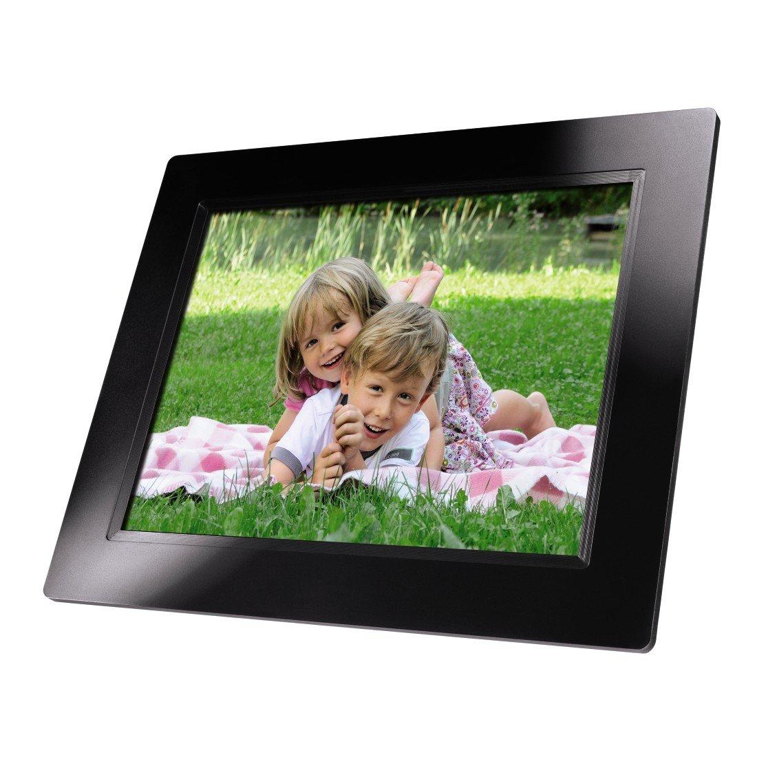 Hama Premium Digitaler Bilderrahmen 9,7 Zoll schwarz: Amazon.de: Kamera