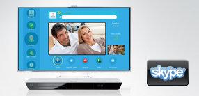 Skype – Videotelefonie im Großformat