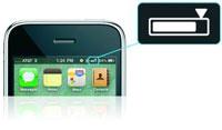 Akkustand-Anzeige auf dem iPhone