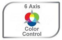 6-Achsen-Farbkontrolle