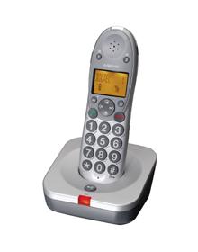 Audioline Big Tel 100 Telefon Große Tasten Und Elektronik