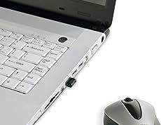 Belkin F8T016ng Bluetooth Mini-Key Adapter USB 2.0, Class II/ 10 m