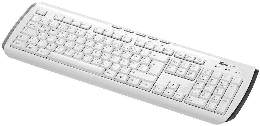 tastatur weiß Beste Bilder: