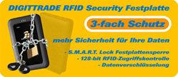 DIGITTRADE RS64 RFID-Festplatte mit 3-fach Schutz