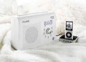 Pure ONE Classic Tragbares Digitalradio (DAB/DAB+, UKW-Tuner, 1,8 ...