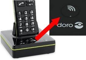 Doro PhoneEasy 336w schnurloses Dect-Telefon mit: Amazon