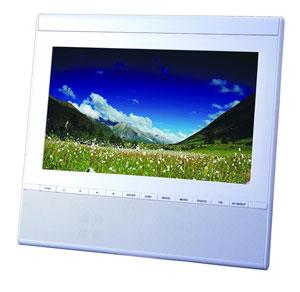Muvid TVF 100-2 Tragbarer LCD-TV (Fotorahmen, UKW-Tuner