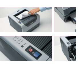 Brother HL-5350DN Monochrome Laserdrucker grau: Amazon.de