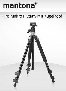 mantona Pro Makro II Treppiedi
