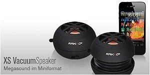 RAIKKO XS Vacuum Speaker Anwendung