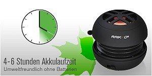 RAIKKO XS Vacuum Speaker Akku