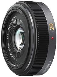 Panasonic H-H020E Pancake-Objektiv Lumix G F1,7/ 20 mm (40 mm KB)