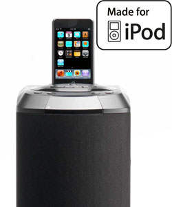 Lenco Ipod-Tower 1 Lautsprecher mit Apple iPod-Docking