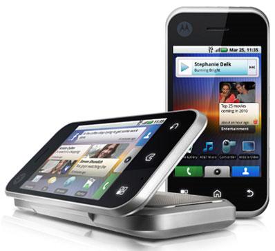 motorola backflip smartphone platinum silver. Black Bedroom Furniture Sets. Home Design Ideas