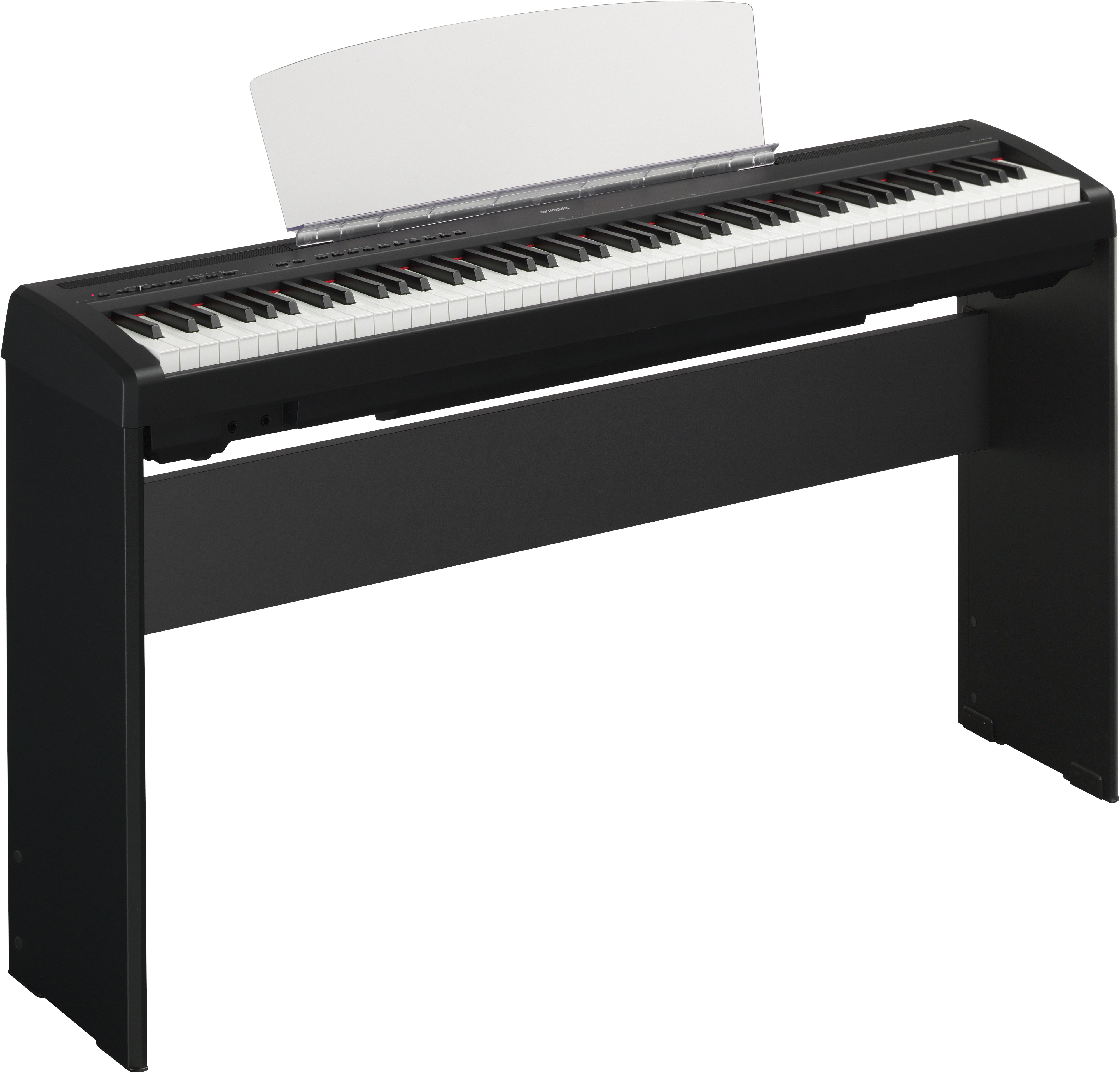 yamaha p 95b digital piano 12 watt schwarz musikinstrumente. Black Bedroom Furniture Sets. Home Design Ideas