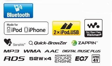 Bluetooth-Digital Musik-Receiver mit Tune-Tray-Fach und doppelten USB-Anschlüssen