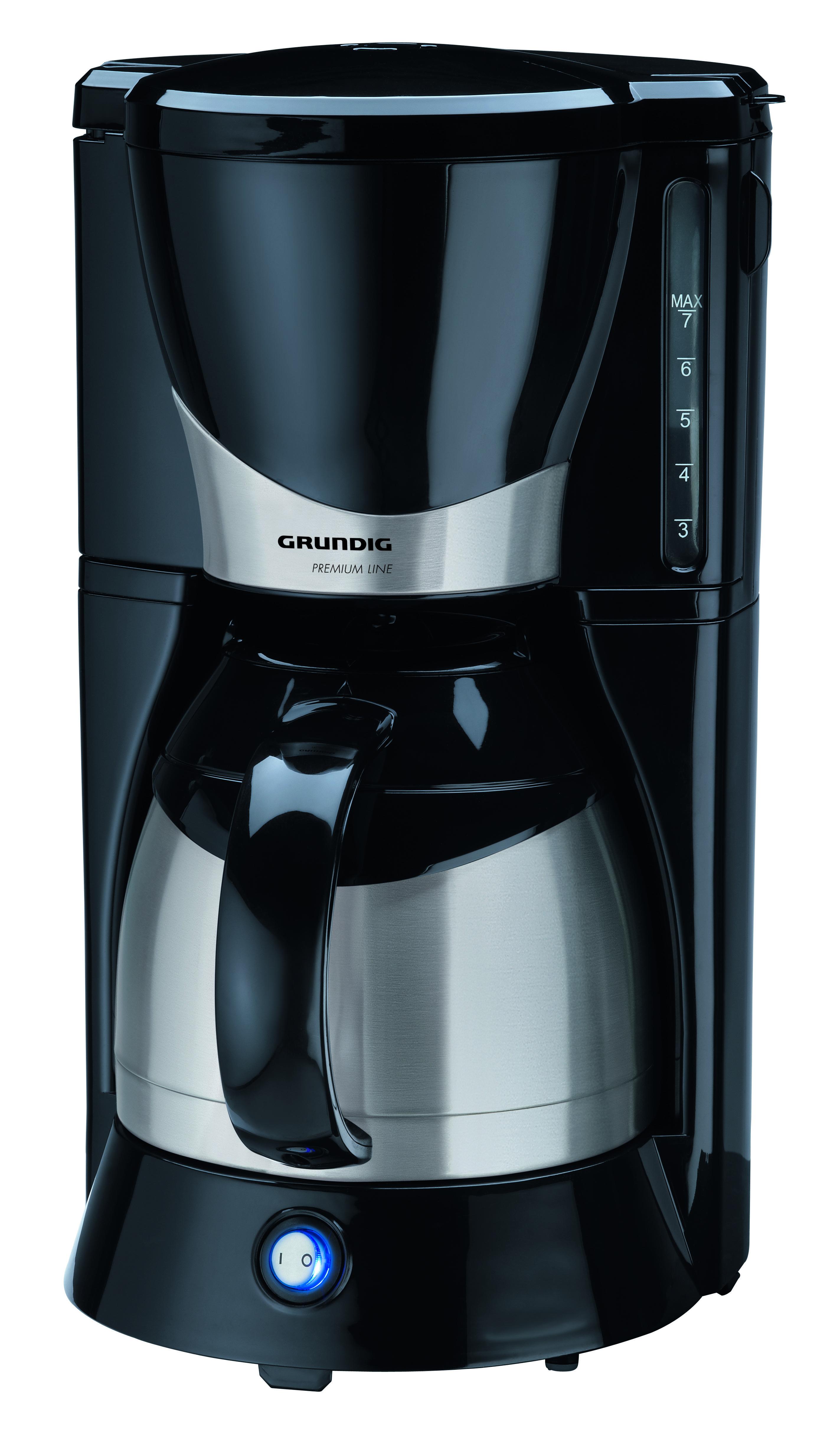 Kaffeemaschine Thermoskanne = Amazonde Grundig KM 5040 PremiumKaffeemaschine (1000