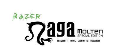 Razer Naga Molten Special Edition Gaming Mouse