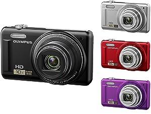 Olympus VR-310 Digitalkamera schwarz