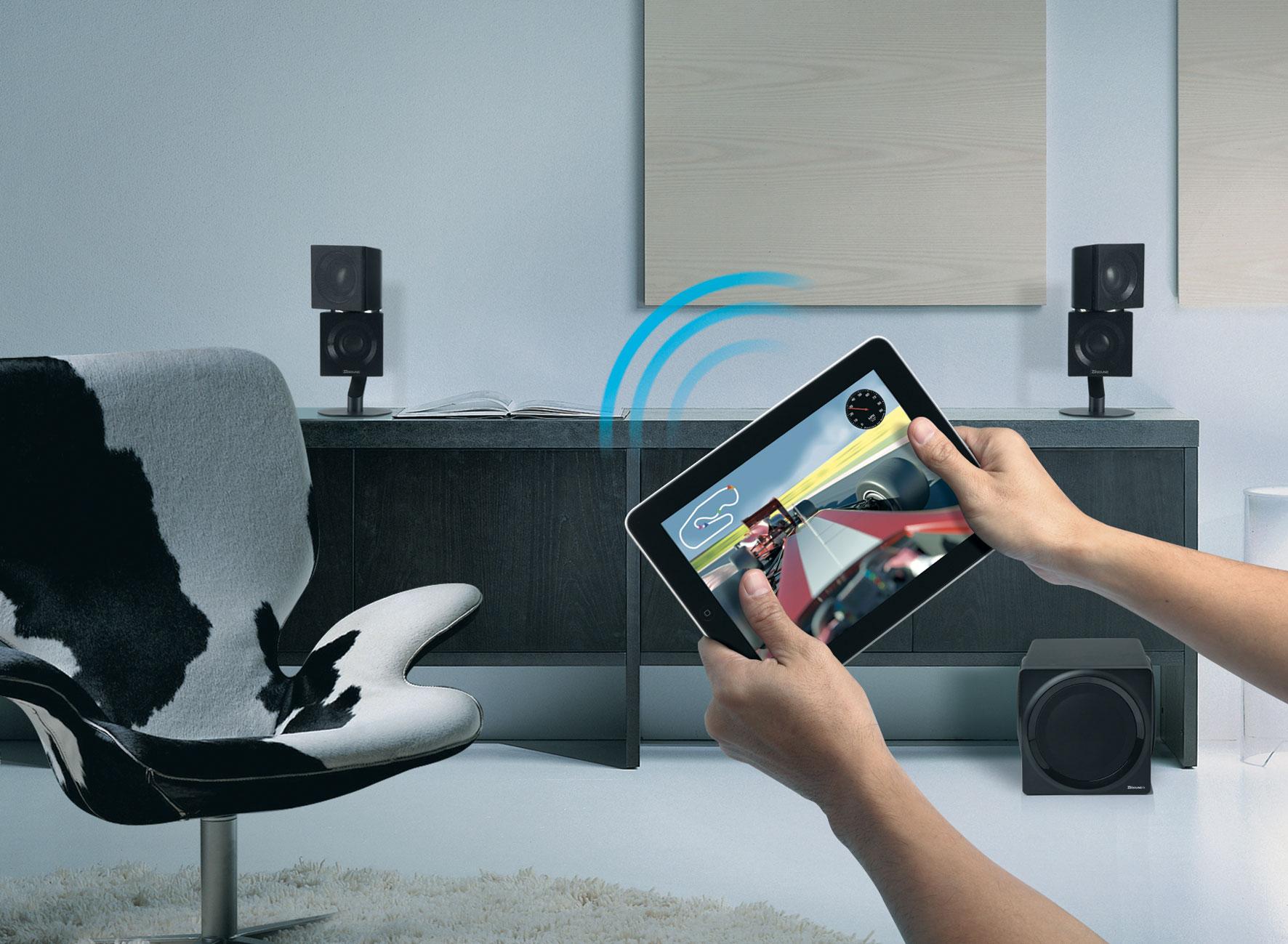 Creative ZiiSound T6 2.1 Wireless Bluetooth: Amazon.de