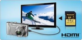 Brilliante Wiedergabe von Full-HD-Videos und Fotos auf HD-Fernsehern