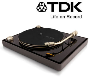 tdk life on record usb betriebenes vinyl turntable schwarz heimkino tv video. Black Bedroom Furniture Sets. Home Design Ideas