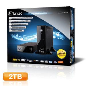 FANTEC AluPlay HD Verpackung
