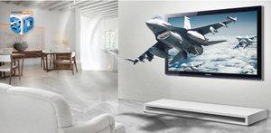Samsung HT-D5500 5.1 3D-Blu-ray Heimkinosystem perlschwarz