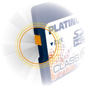 Platinum 32 GB Class 6 SDHC Speicherkarte 177114: Amazon