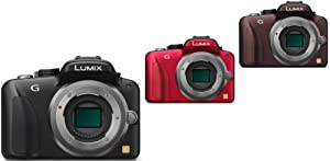 Panasonic Lumix DMC-G3 Systemkamera Gehäuse schwarz