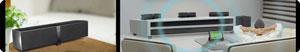 Kabelloses Lautsprechersystem