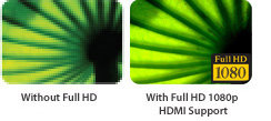 FULL HD with HDMI