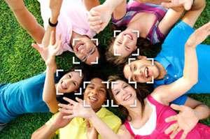 Face-Detection-Technologie: Gesicht zeigen