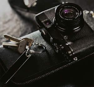 Kamera im Pocketformat