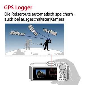 GPS mit Loggerfunktion