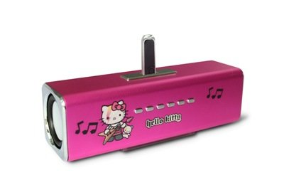hello kitty musicbox stereo lautsprecher mit integriertem. Black Bedroom Furniture Sets. Home Design Ideas