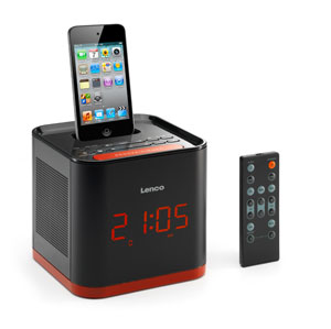lenco ipd 4800 uhrenradio mit dockingstation f r apple ipod iphone pll synthesizer ukw tuner. Black Bedroom Furniture Sets. Home Design Ideas