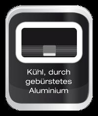 Kühles Aluminium