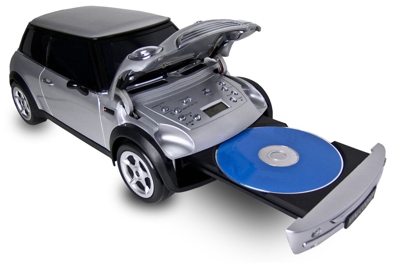 karcher mini cooper cd radio cd player fm radio usb. Black Bedroom Furniture Sets. Home Design Ideas