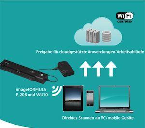 Maximale Mobilität mit optionaler, separat erhältlicher Wi-Fi Box WU10