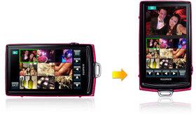 Touchscreen-Bildschirm der Z1000EXR