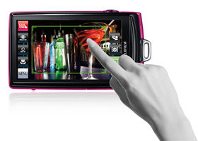 Touchscreen der FINEPIX Z1000EXR