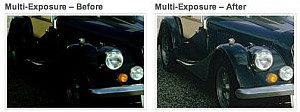 Erhöhung des Dynamikumfangs durch Multi-Exposure