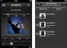sony netzwerklautsprecher sa ns510 360 grad dlna. Black Bedroom Furniture Sets. Home Design Ideas