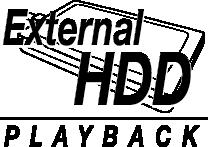HDD-Wiedergabe