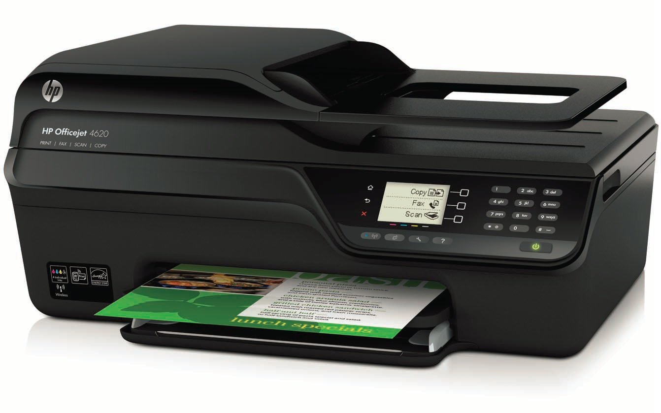 hp officejet 4620 e all in one tintenstrahl. Black Bedroom Furniture Sets. Home Design Ideas
