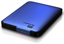 My Passport - Tragbare Festplatte in Blau metallic